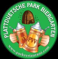 plattduetsche beirgarten logo