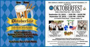 Windham Mtn Oktoberfest & Peekskill Oktoberfest