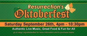 Resurrection Oktoberfest 2015