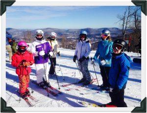 dSb kids skiing