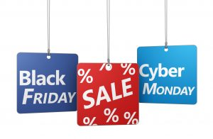 Black Friday through Cyber Monday Sale starts November 25!