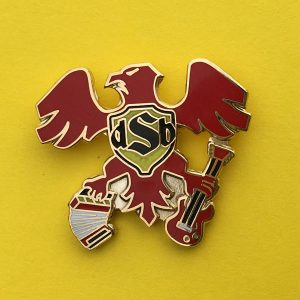 dSb eagle hat pin