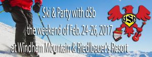dSb Ski Weekend 2017
