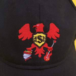 Close Up of dSb Embroidered Baseball Cap