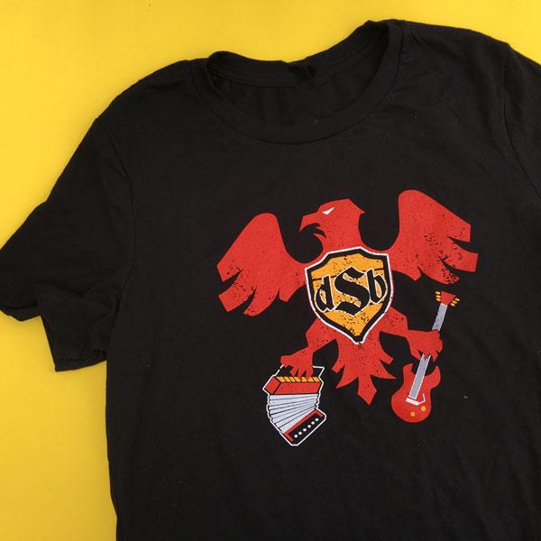 Men's short sleeve eagle shirt
