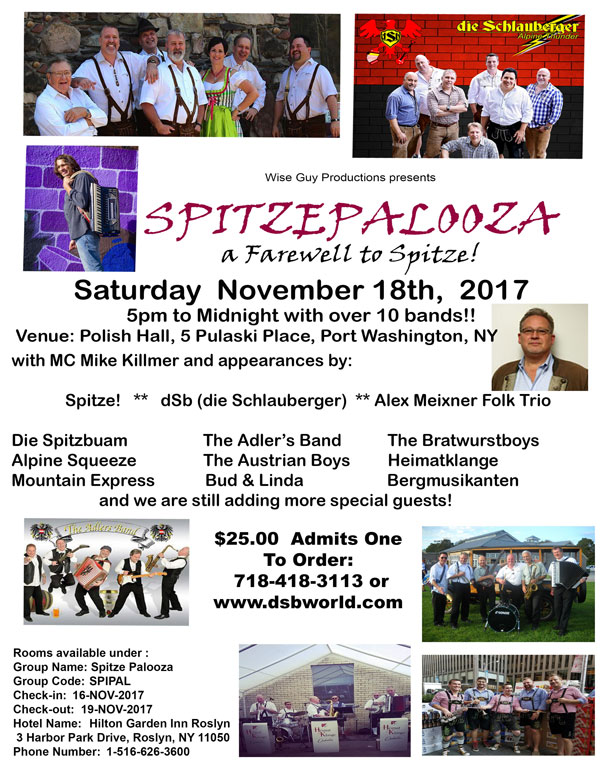 Spitzepalooza Nov 18 2017