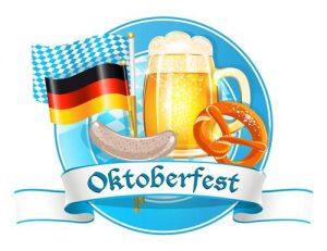 Oktoberfest Beer Flag Pretzel