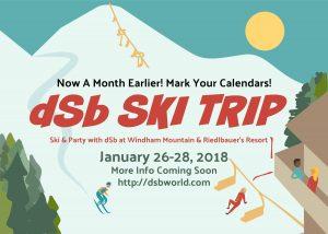 dSb Ski Trip 2018
