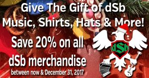 dSb Holiday Sale 2017